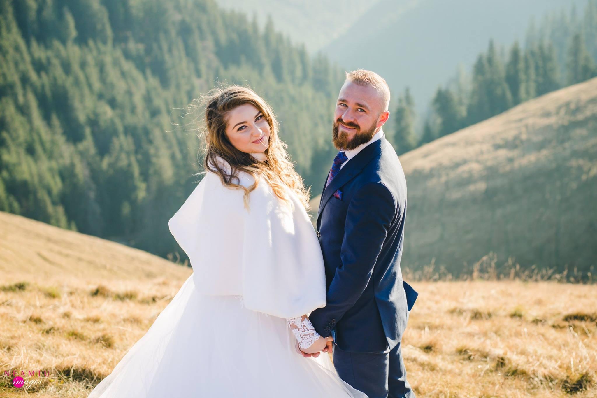 Foto Marius si Cristina after wedding